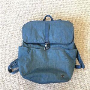 Lululemon Rise and Shine Blue Backpack